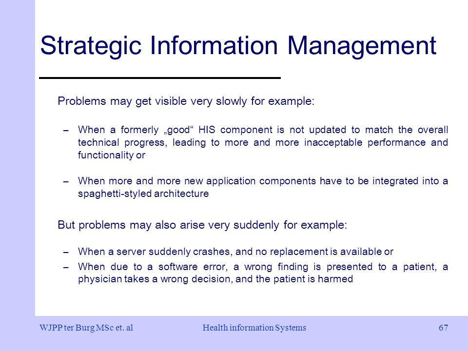 strategic management and information systems Knowledge management systems (kms) are applications of the organization's computer-based communications and information systems (cis).