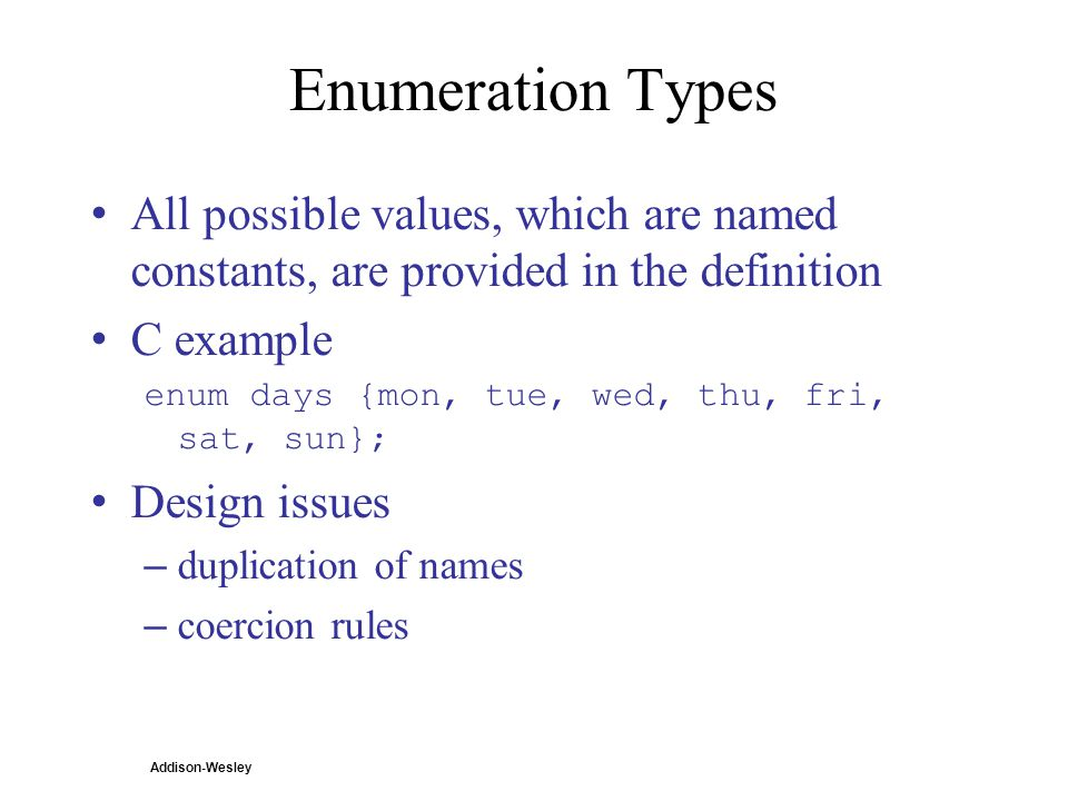 c examples with dictionary and enum