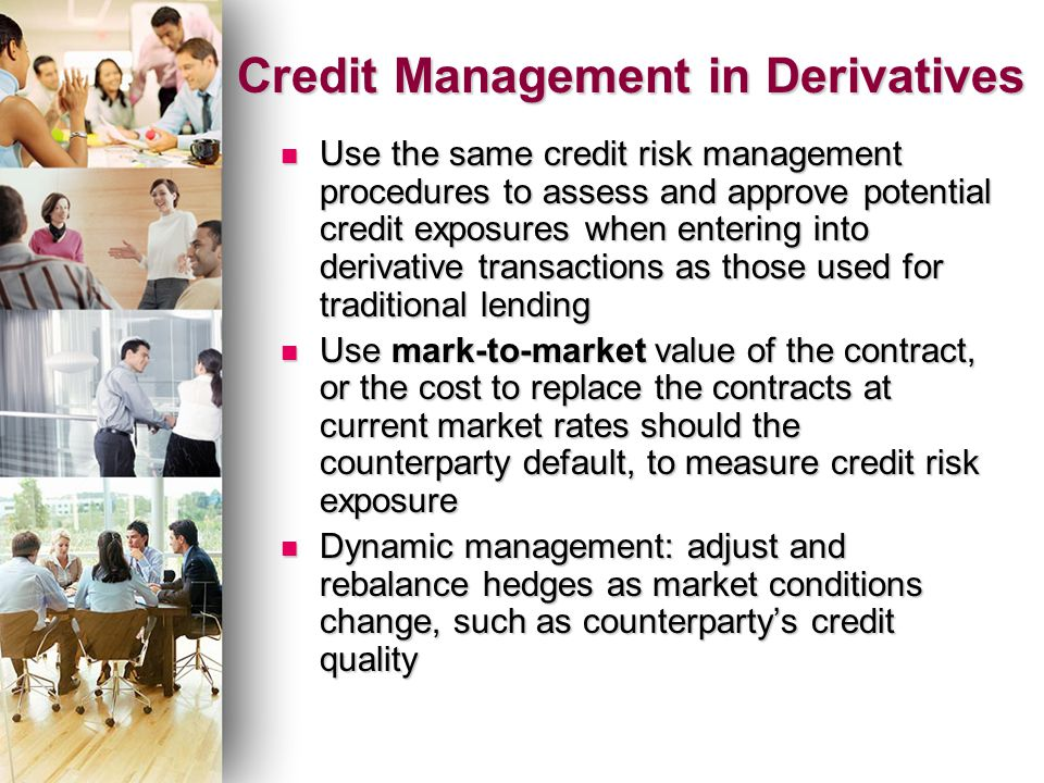 use derivatives risk management essay The global use of derivatives finance essay lecturers name: whereas hedgers are traders who does transactions in the market for price risk management.
