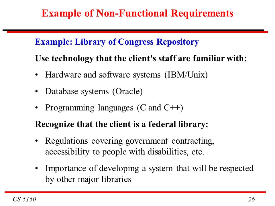 Functional And Non Functional Requirements In Software Computer