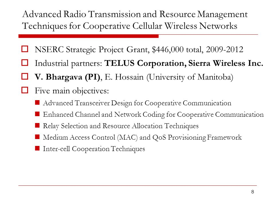 Advanced Radio Transmission and Resource Management Techniques for Cooperative Cellular Wireless Networks