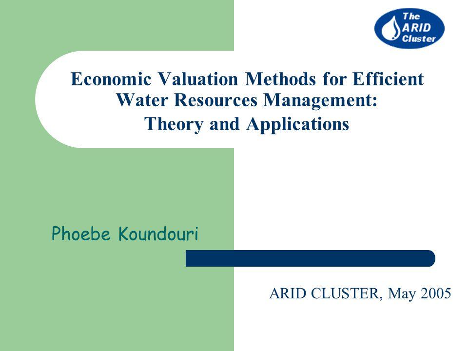 economics and resource management pdf