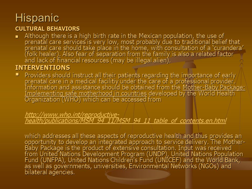 hispanic cultural values and beliefs of hispanics Hispanic/american cultural family values   belief that the father is the head of the.
