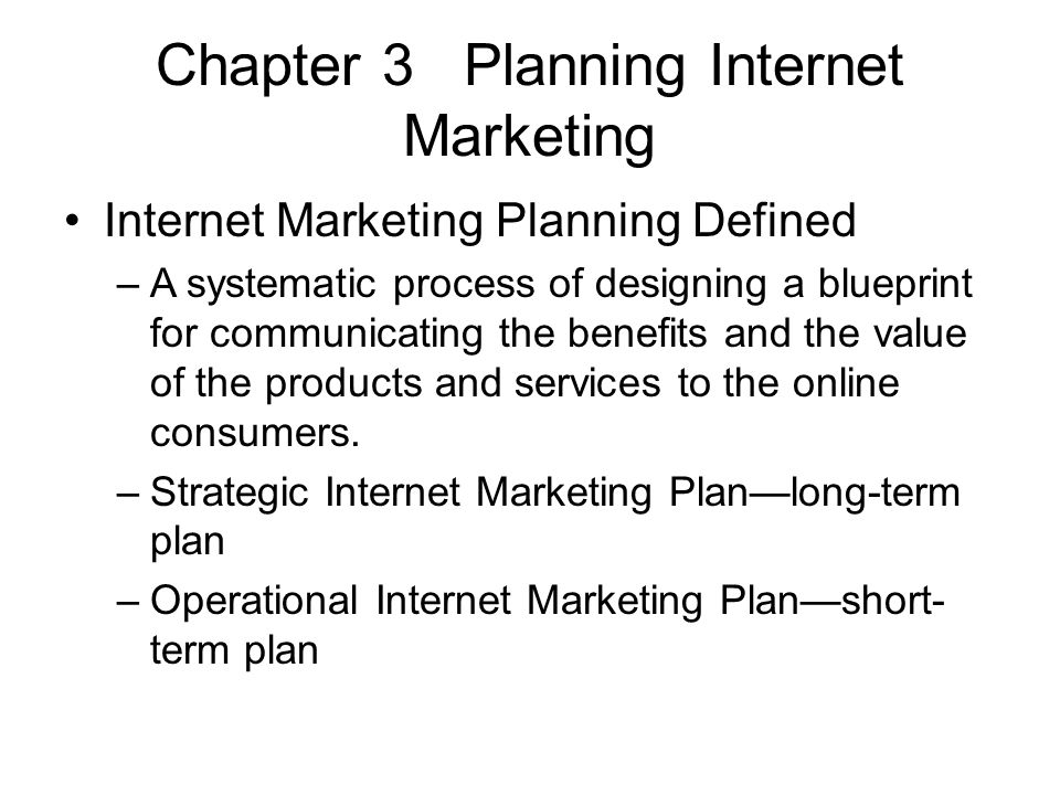 Internet marketing in hospitality and tourism ppt video online chapter 3 planning internet marketing malvernweather Choice Image