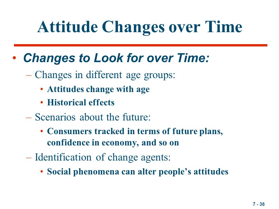 EFFECTS OF CRITICISM TO ATTITUDE CHANGE