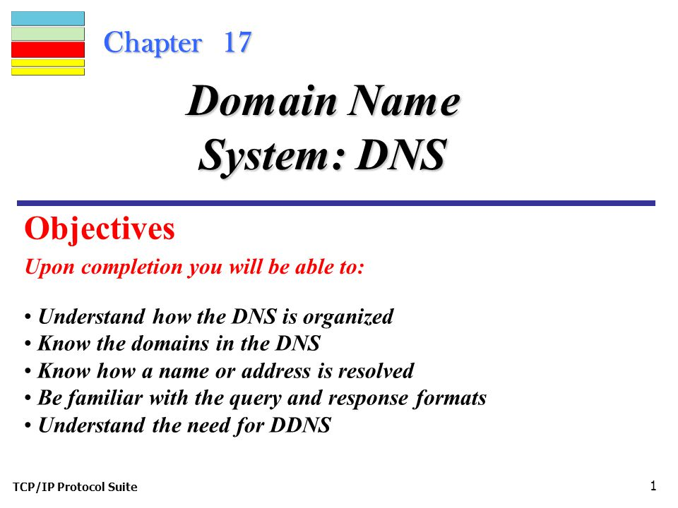 Domain Name System: DNS - ppt video online download