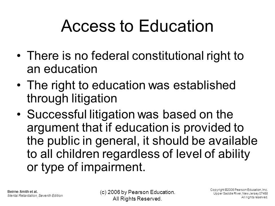 education should only be accessible to Planning and designing for students with disabilities  planning and designing for students with disabilities 3  special education spaces should not be.