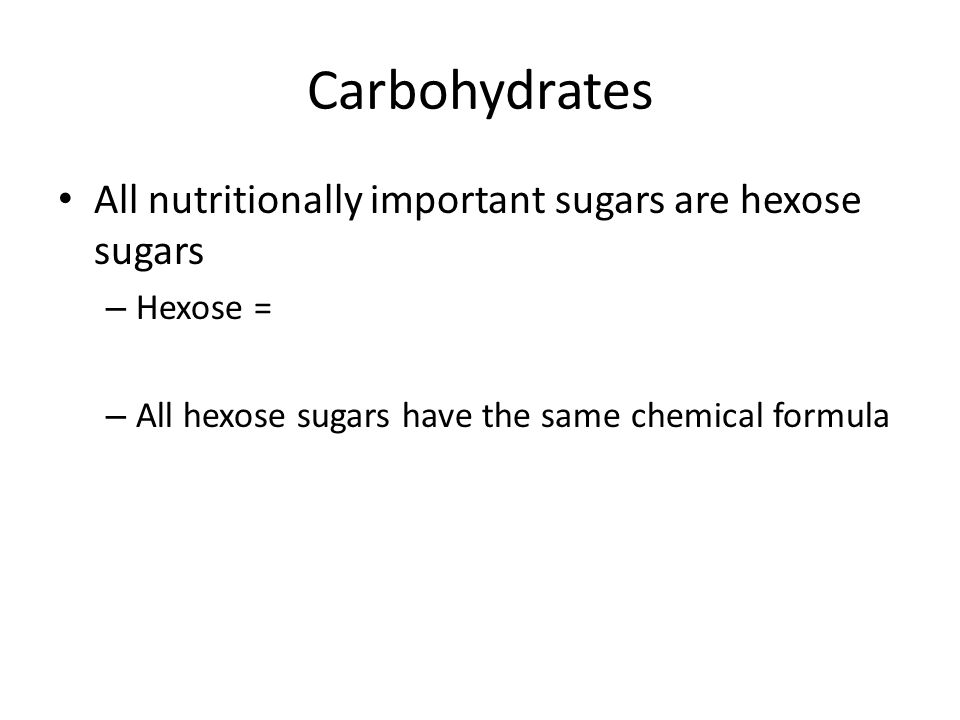 Simple sugars complex carbohydrates and fiber ppt video online 7 carbohydrates publicscrutiny Gallery