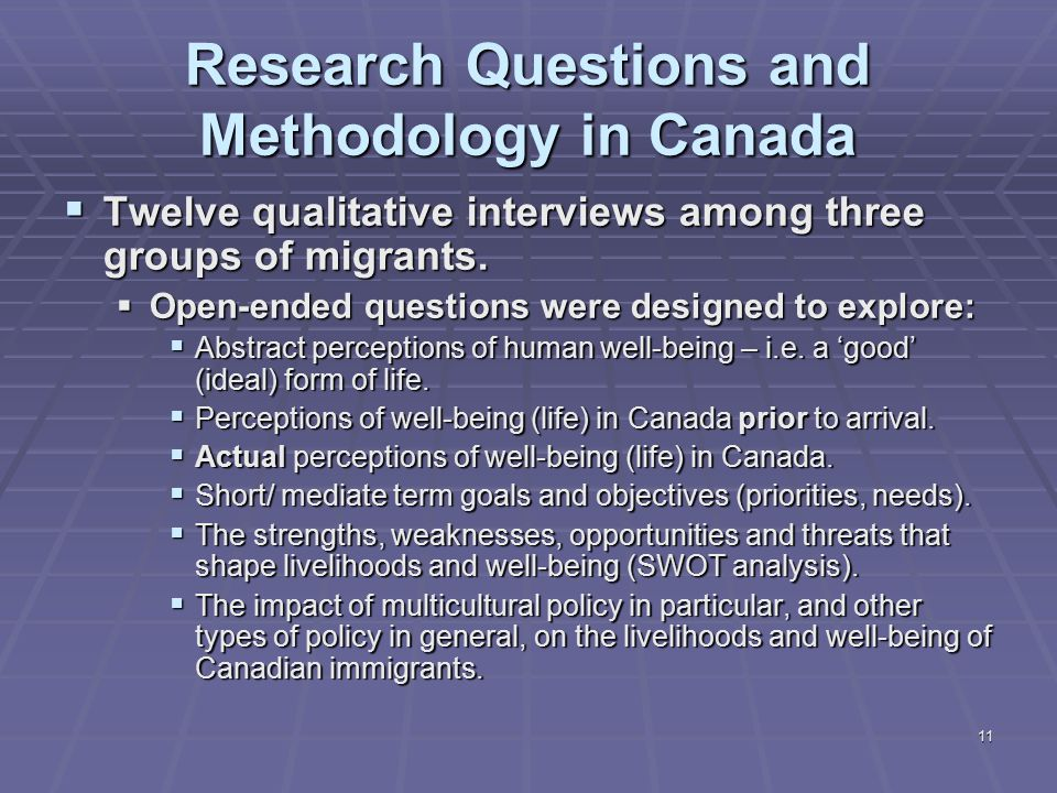 a research on canada immigration An overview of german-russian genealogy research in canada   one must write to citizenship and immigration canada in ottawa for format of requests and costs, see.