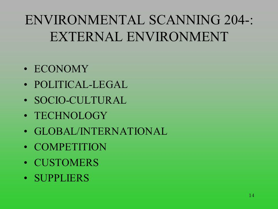 internationalization with environmental scanning Evaluation scheme & syllabus for  mba second year  on   environmental scanning :  internationalization ,.