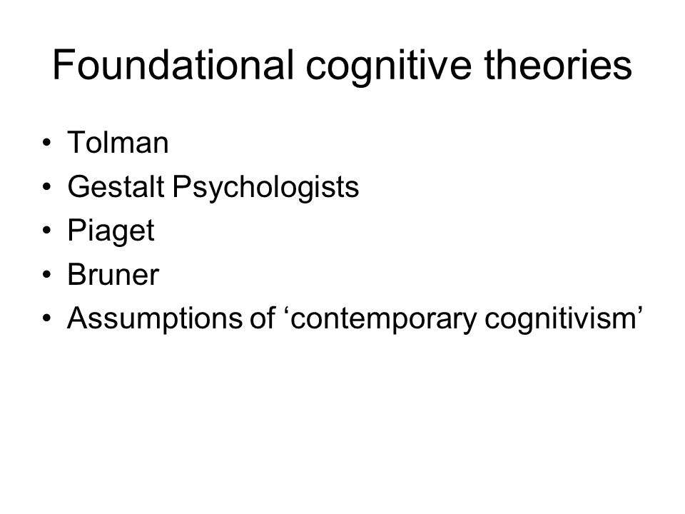 gestalt and cognitive perspectives Give a brief comparison and contrast of these 3 psychological perspectives: cognitive perspective, gestalt perspective, and evolutionary.