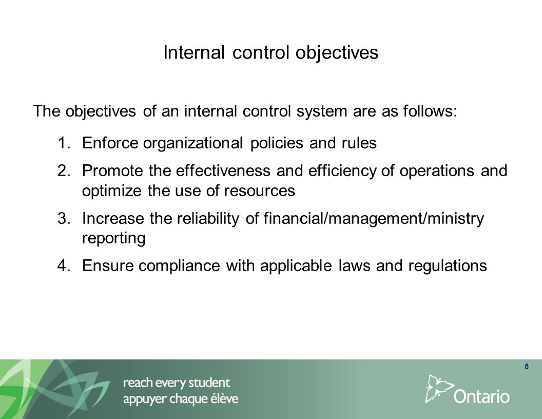 which must the internal controls accomplish for the business to survive Department of accounting and finance school of business and  relationship  between internal control systems and financial  the study recommends that the  institutions should tighten controls to  survives, grow and react to the  environmental  form and timeframe to accomplish the financial reporting.