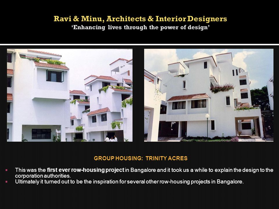 GROUP HOUSING: TRINITY ACRES