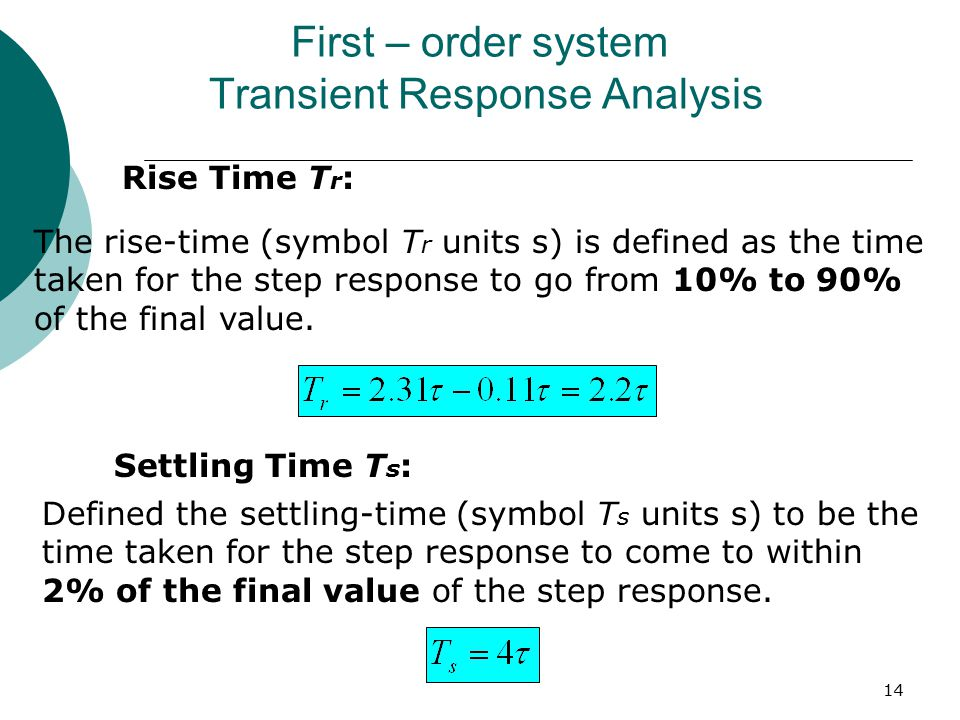 transient response of second order system 2018-1-19 it should be noted that a transient  since the equations for a transient dynamic analysis are of second order,  we may have captured some response at the second.