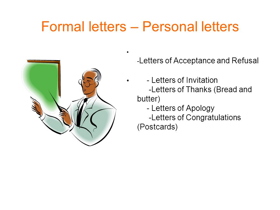 Formal letters personal letters ppt video online download formal letters personal letters stopboris Image collections