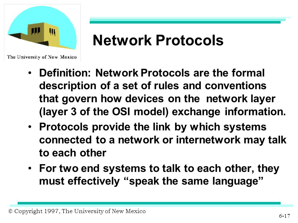 Definition of the term protocol