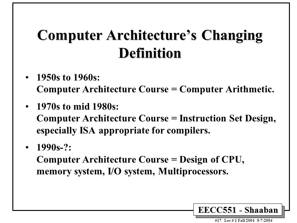 The von neumann computer model ppt download for Definition architecture