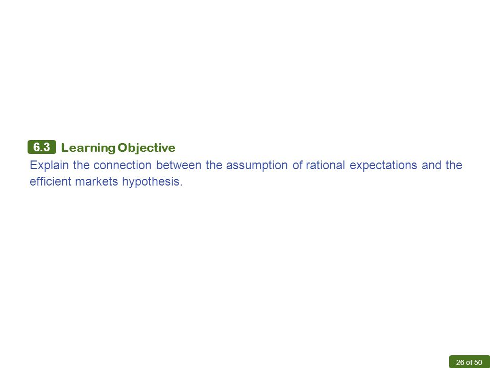 adaptive vs rational expectations New classical economics and the theory of rational and is based on the theory of rational expectations with adaptive versus rational expectations.