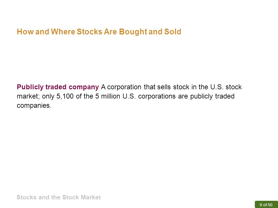 how to buy publicly traded stock