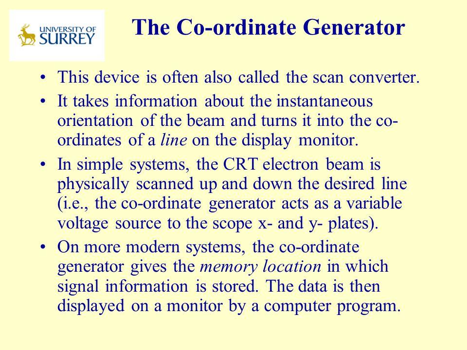 The Co-ordinate Generator