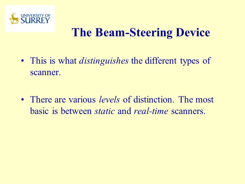The Beam-Steering Device