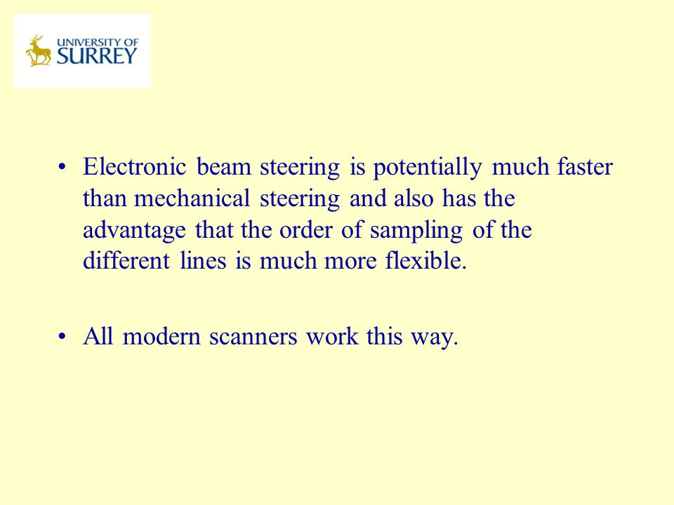 All modern scanners work this way.