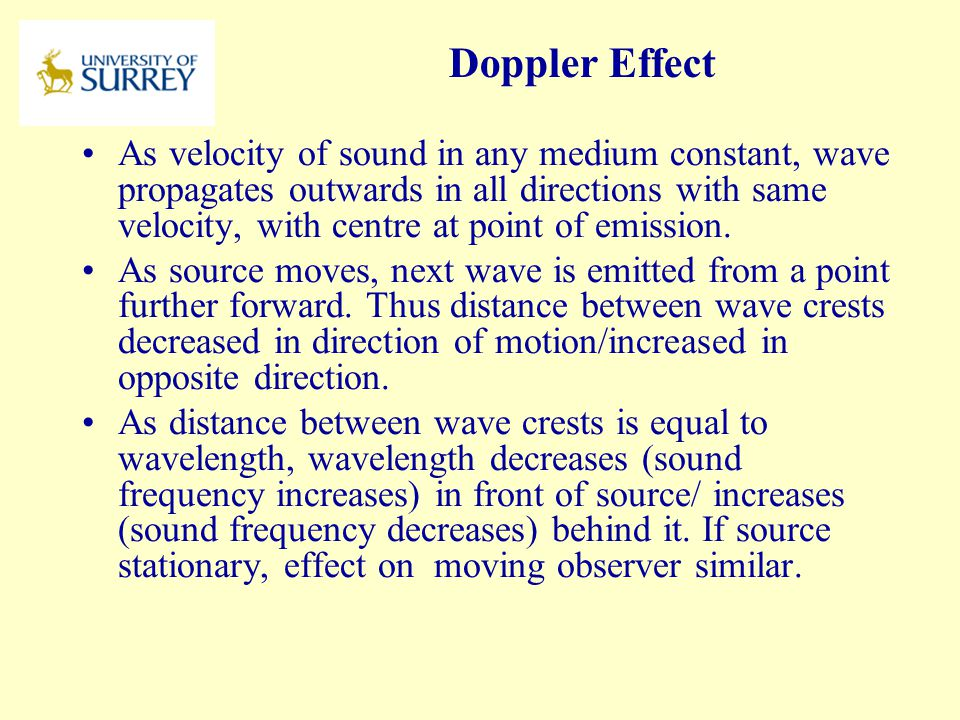 PH3-MI April 17, 2017. Doppler Effect.
