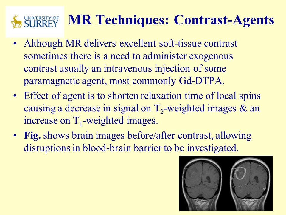 MR Techniques: Contrast-Agents