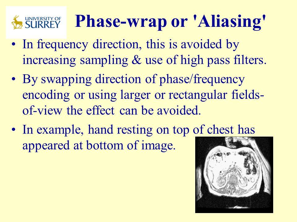 Phase-wrap or Aliasing