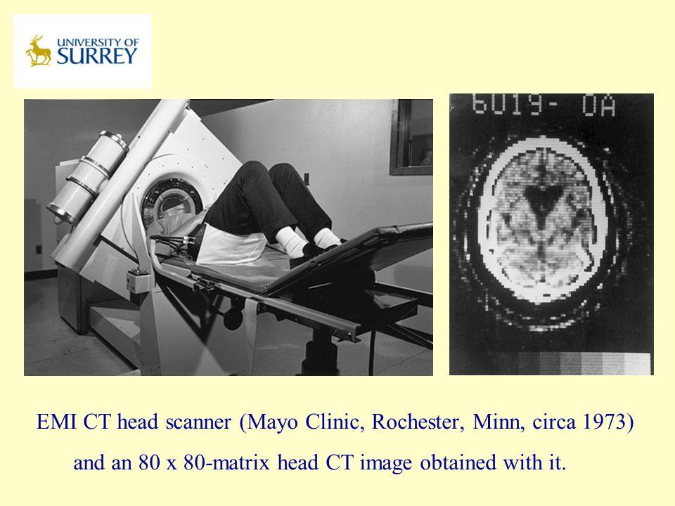 EMI CT head scanner (Mayo Clinic, Rochester, Minn, circa 1973)