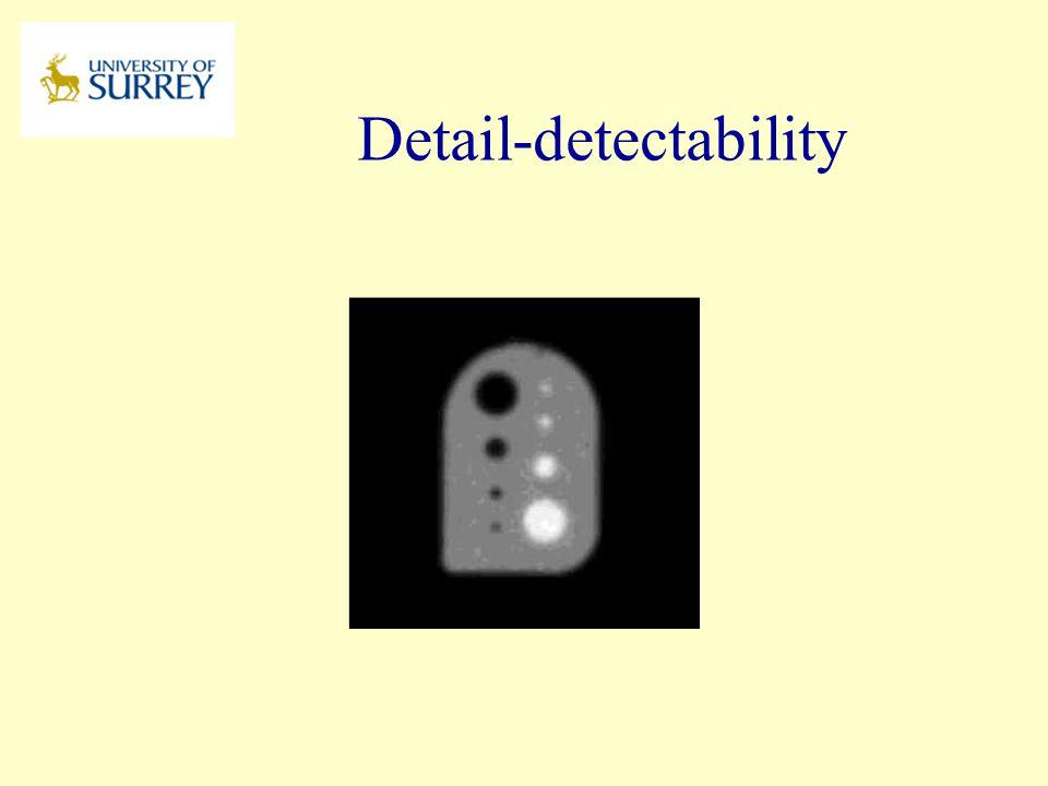 Detail-detectability