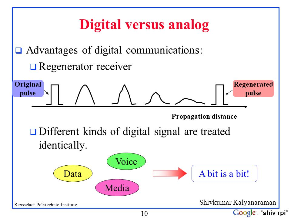 advantages of digital communication and signal The advantages of digital communication are helped to develop the social  networks  analog signal and transmitted over a communication channel  though.