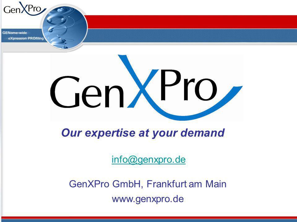 GenXPro GmbH, Frankfurt am Main