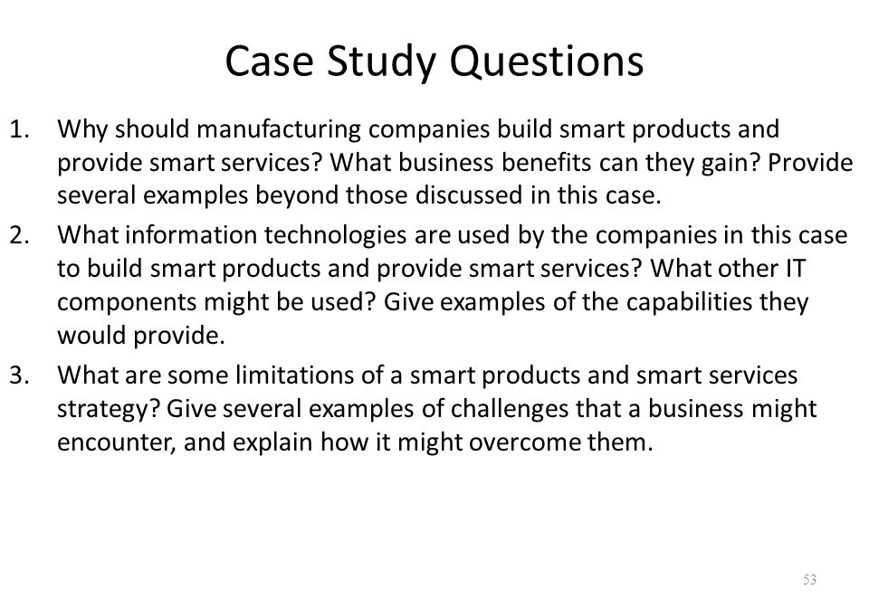 IMPORTANT QUESTION     Case Study Help
