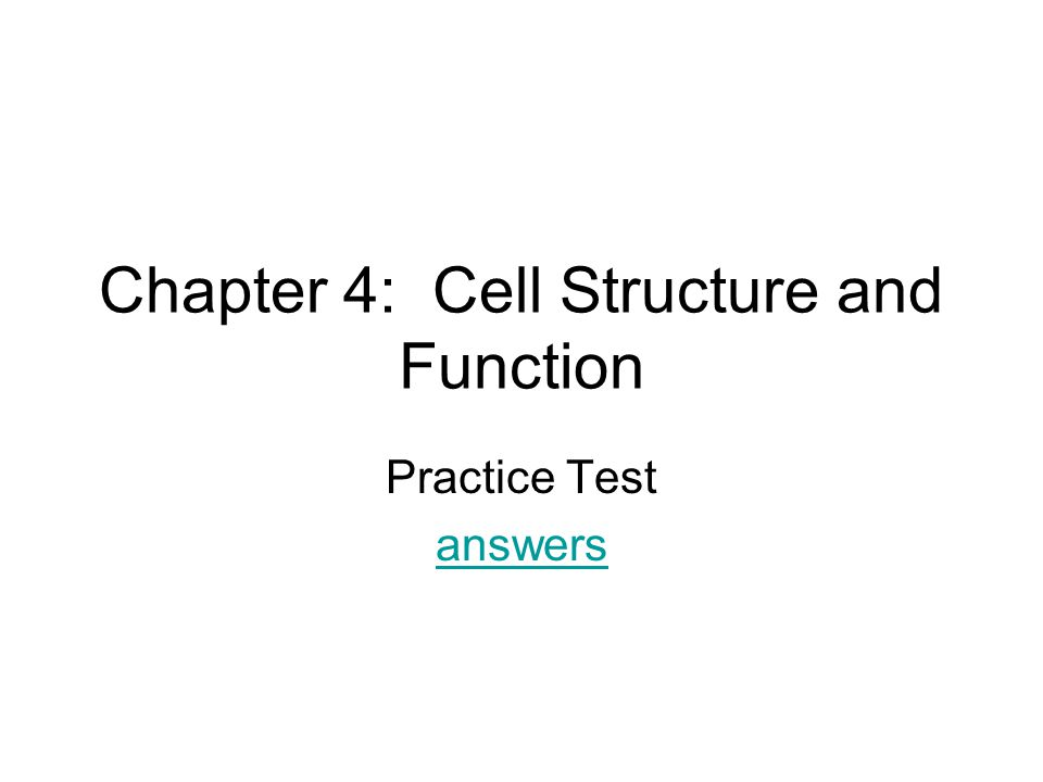 Chapter 4 Cell Structure And Function Ppt Video Online Download