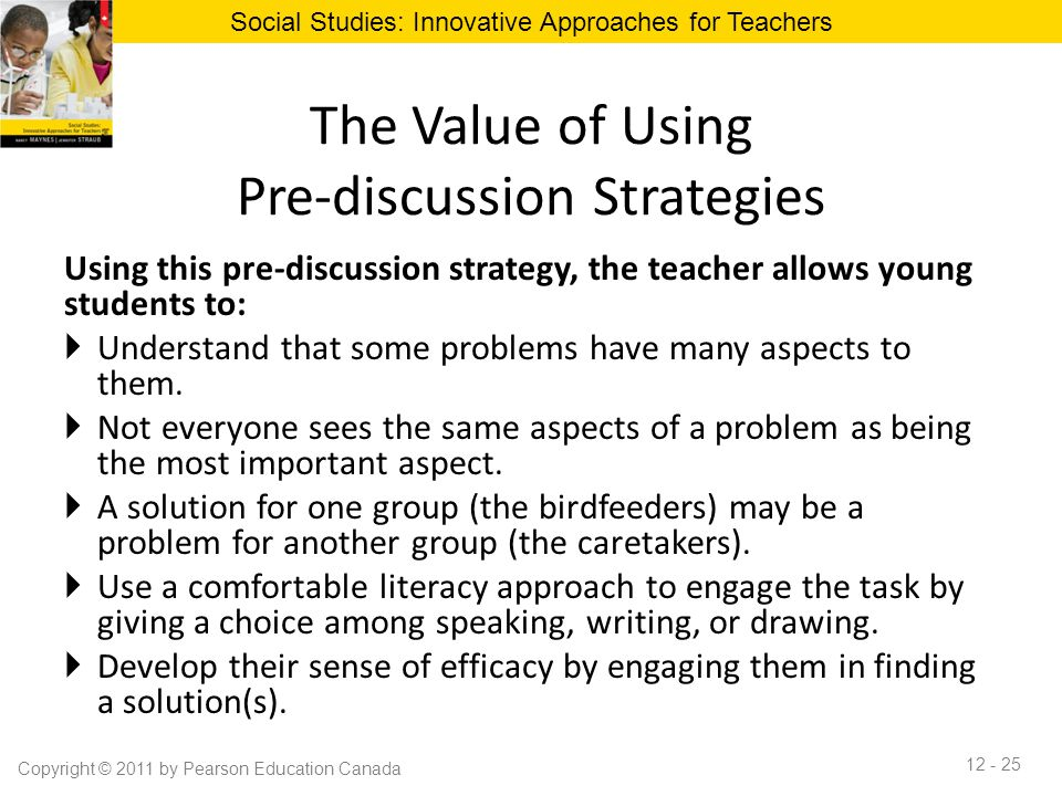 Innovative Classroom Teaching Strategies : Chapter classroom discussion to promote effective