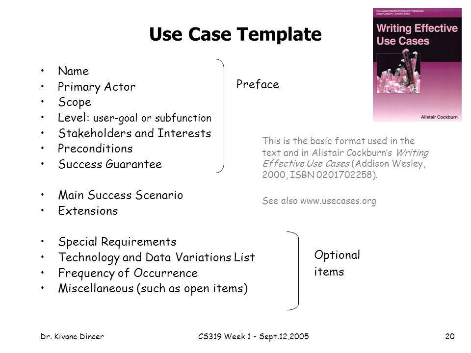 Chapter  Use Cases Objectives Identify And Write Use Cases  Ppt