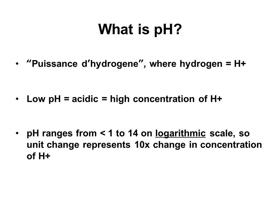 how to change ph of b horzine