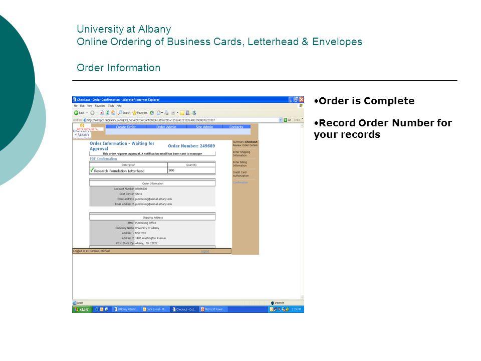Business Cards, Letterhead & Envelopes - ppt download