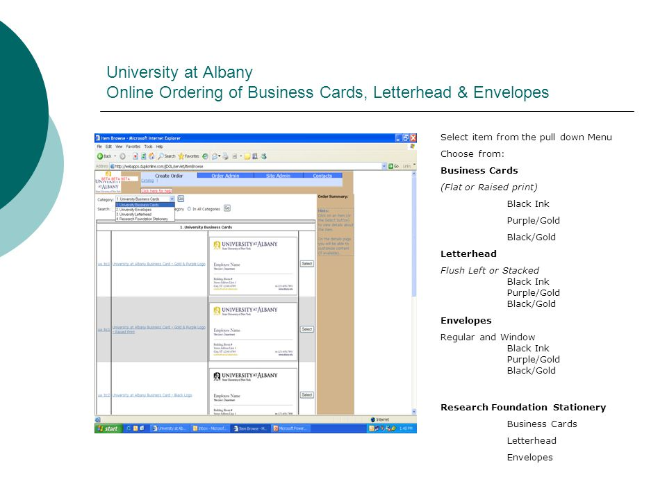 Business Cards, Letterhead & Envelopes - ppt download