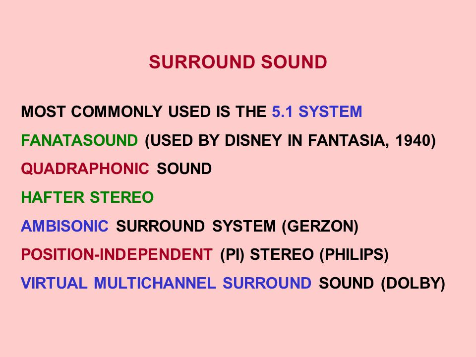 STUDIOS AND LISTENING ROOMS - ppt video online download