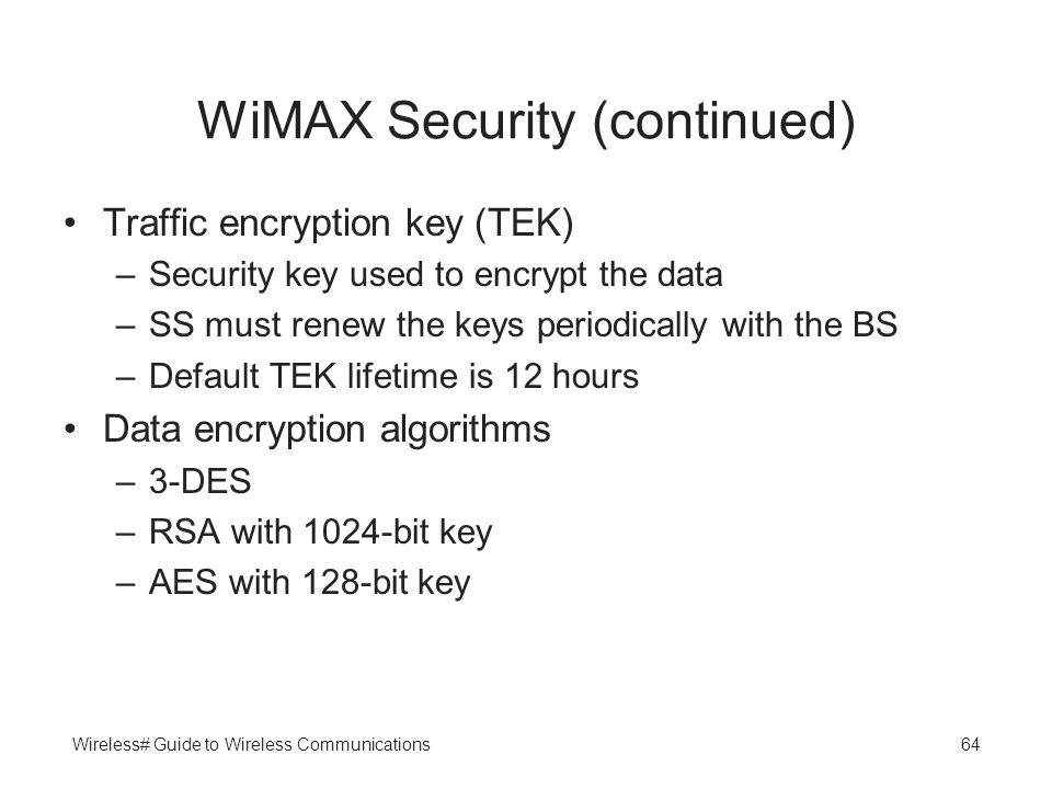 List of WiMAX networks