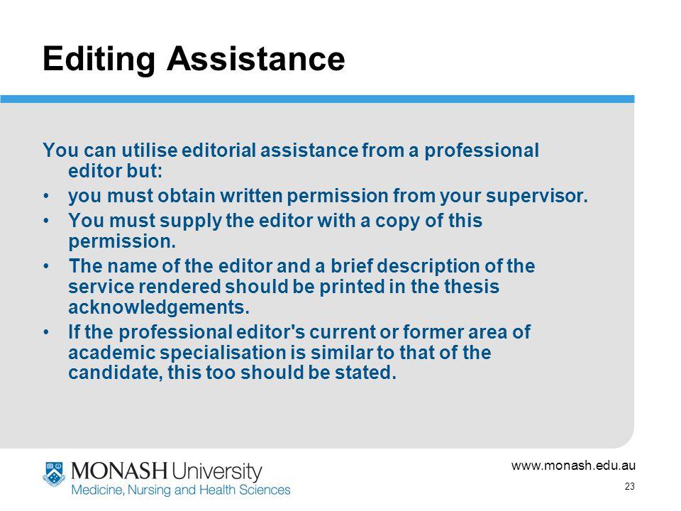 Publish dissertation online