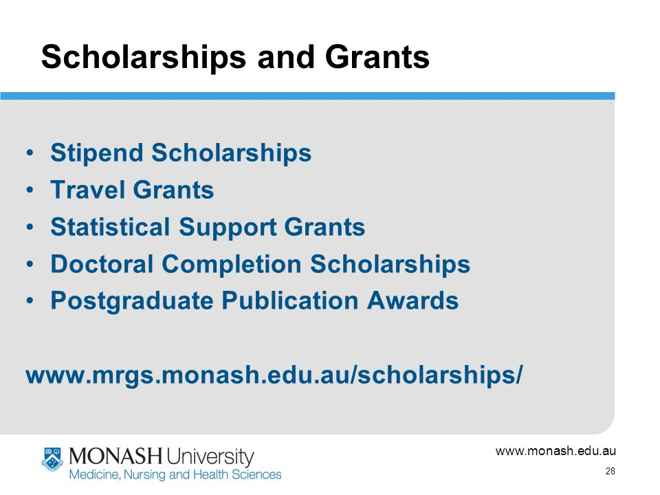 types of grants and scholarships essay