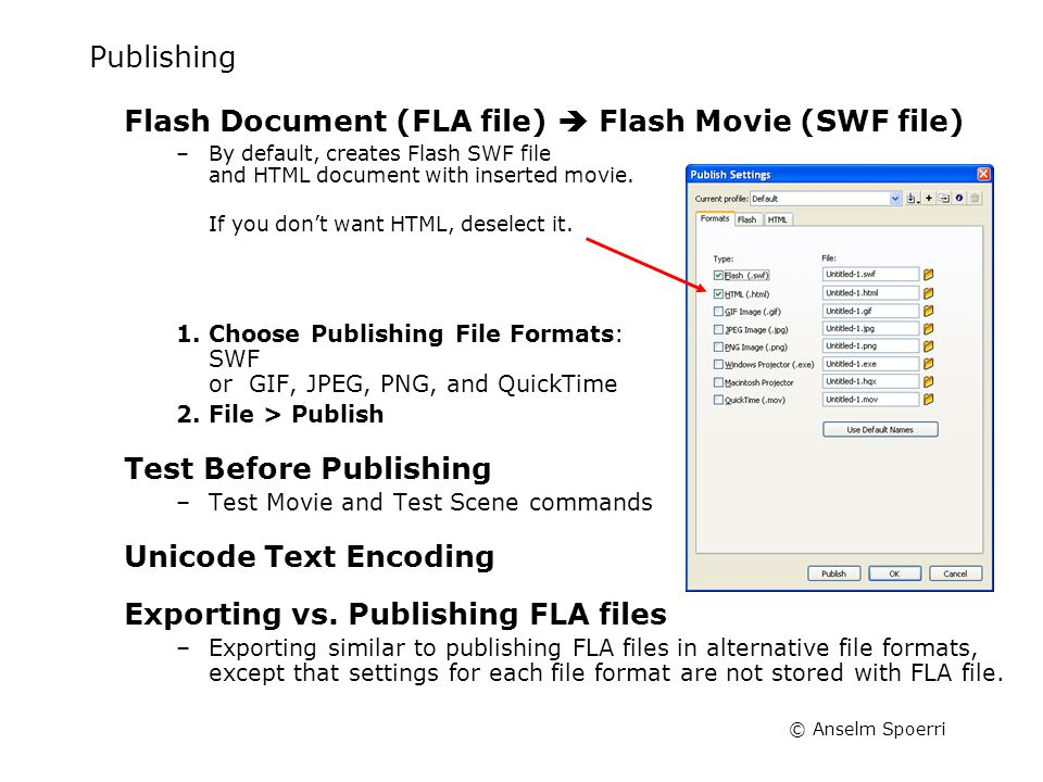 What is a FLA file