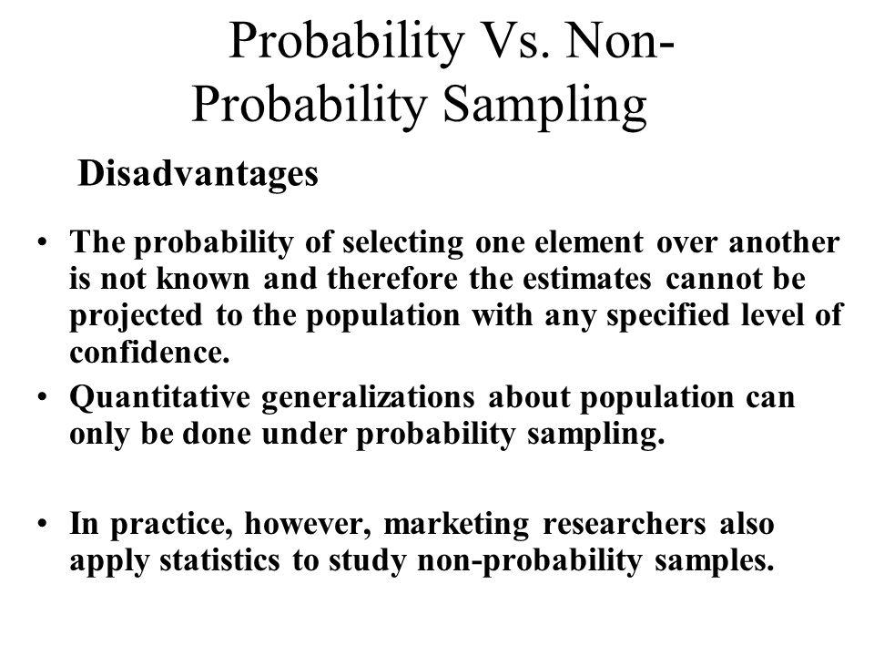 probability sampling vs non probability sampling pdf