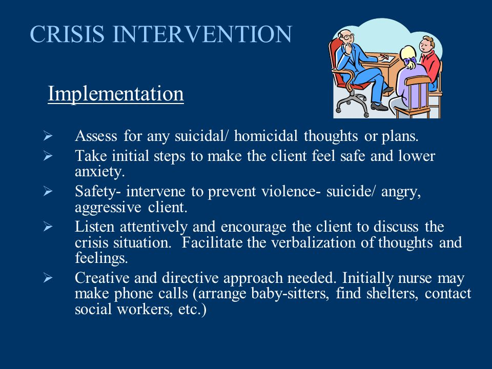 The Role of Social Workers in Crisis Intervention