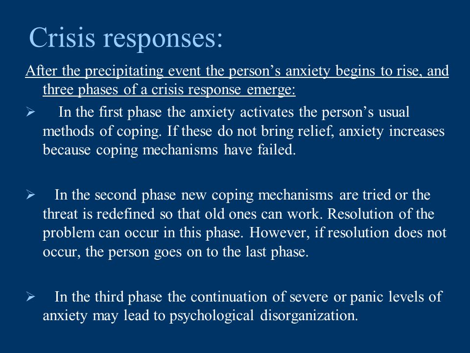 personality of the crisis worker People with antisocial personality disorder can be witty, charming, and fun to be around -- but they also lie and exploit others webmd looks at the causes, diagnosis, symptoms, and treatment of this disorder.
