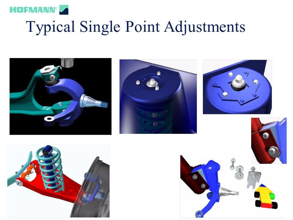 Typical Single Point Adjustments