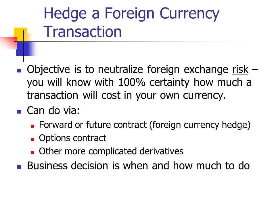 On which exchanges do foreign currency options contracts trade